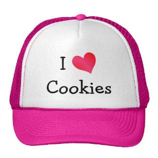 J'aime des biscuits casquette de camionneur