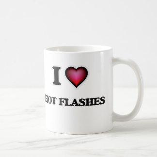 J'aime des bouffées de chaleur mug