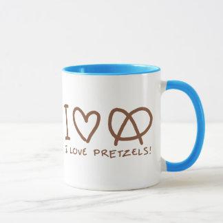 J'aime des bretzels mug