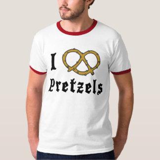 J'aime des bretzels t-shirt