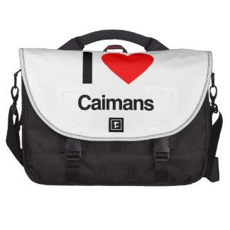 j'aime des caimans sacs pour ordinateurs portables