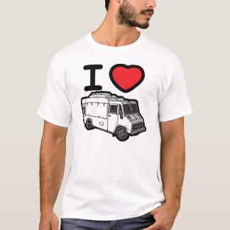 J'aime des camions de nourriture ! t-shirt