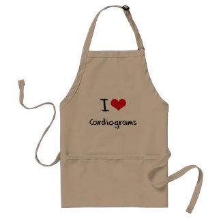J'aime des cardiogrammes tablier