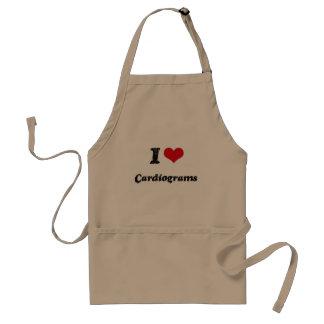 J'aime des cardiogrammes tabliers