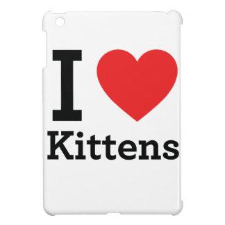 J'aime des chatons coque pour iPad mini