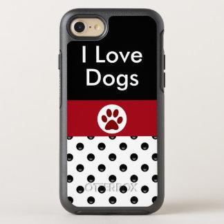 J'aime des chiens élégants coque otterbox symmetry pour iPhone 7