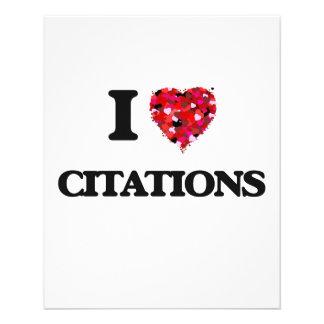 J'aime des citations prospectus 11,4 cm x 14,2 cm
