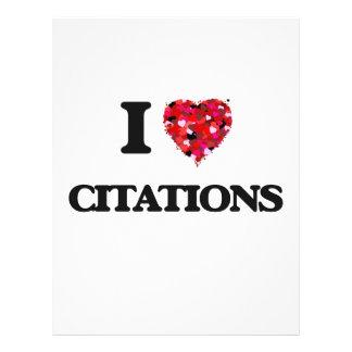 J'aime des citations prospectus 21,6 cm x 24,94 cm