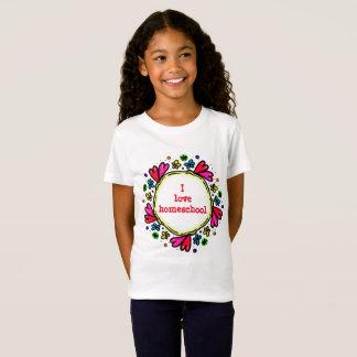 J'aime des coeurs de homeschool T-Shirt