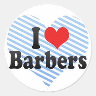 J'aime des coiffeurs adhésifs
