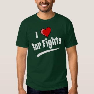 J'aime des combats de barre t-shirts