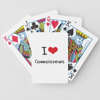 J'aime des connaisseurs jeux de cartes bicyle