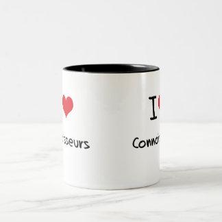 J'aime des connaisseurs tasse à café