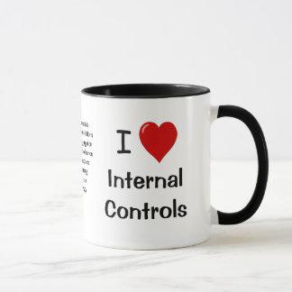 J'aime des contrôles internes - le triple a mug