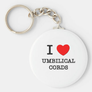 J'aime des cordons ombilicaux porte-clés