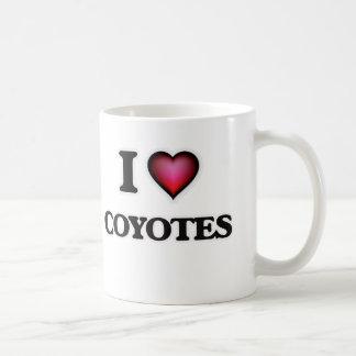 J'aime des coyotes mug