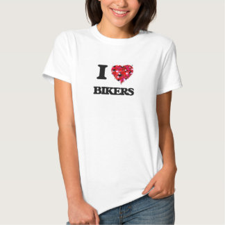 J'aime des cyclistes t-shirt