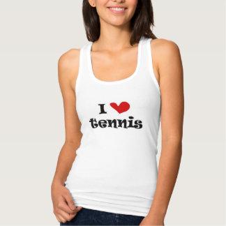 J'aime des débardeurs de dames de tennis pour des