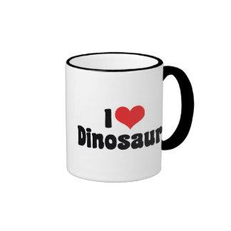 J'aime des dinosaures mug ringer