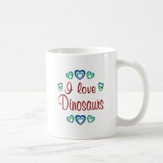 J'aime des dinosaures tasse