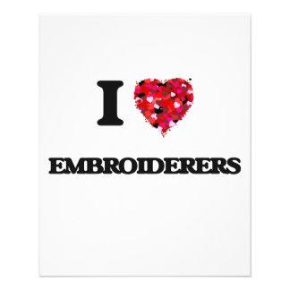 J'aime des Embroiderers Prospectus 11,4 Cm X 14,2 Cm