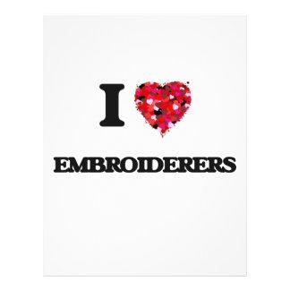 J'aime des Embroiderers Prospectus 21,6 Cm X 24,94 Cm