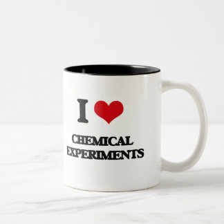 J'aime des expériences chimiques mug