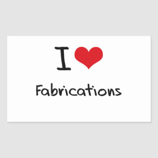 J'aime des fabrications stickers rectangulaires