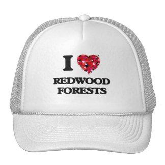 J'aime des forêts de séquoia casquette