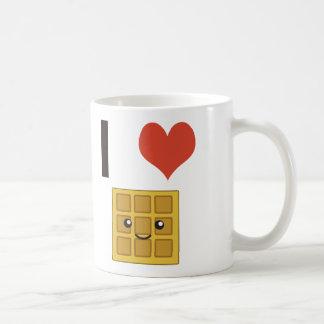 J'aime des gaufres mug