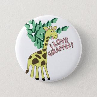 J'aime des girafes ! pin's