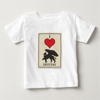 J'aime des griffons t-shirt pour bébé