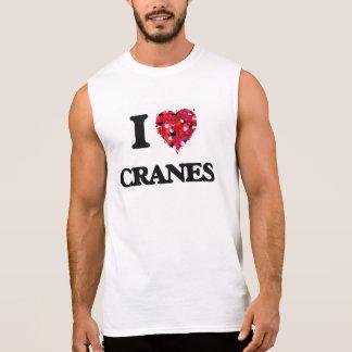 J'aime des grues t-shirts sans manches