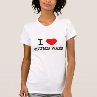 J'aime des guerres de pouce t-shirts