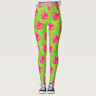 J'aime des guêtres de pastèque leggings