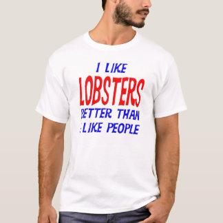J'aime des homards meilleurs que j'aime le T-shirt