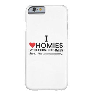 J'aime des homies avec la caisse supplémentaire de coque iPhone 6 barely there