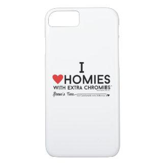 J'aime des homies avec la caisse supplémentaire de coque iPhone 7
