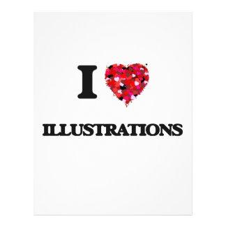 J'aime des illustrations prospectus 21,6 cm x 24,94 cm