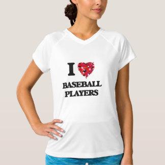 J'aime des joueurs de baseball t-shirts