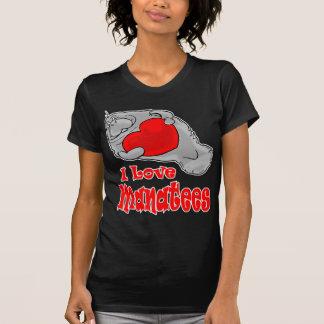 J'aime des lamantins t-shirt