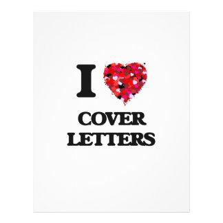 J'aime des lettres d'accompagnement prospectus 21,6 cm x 24,94 cm