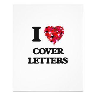 J'aime des lettres d'accompagnement prospectus 11,4 cm x 14,2 cm