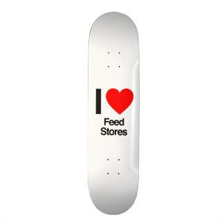 j'aime des magasins d'alimentation plateau de skate