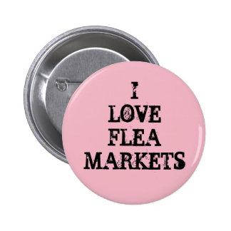 J'aime des marchés aux puces badges
