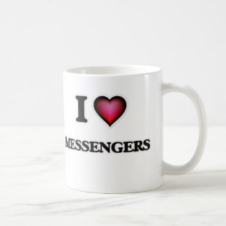J'aime des messagers mug