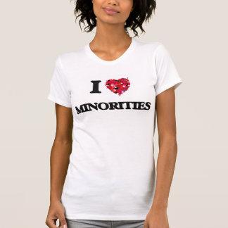 J'aime des minorités t-shirts