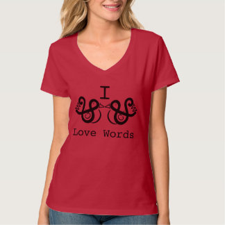 J'aime des mots t-shirt