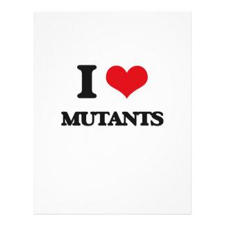 J'aime des mutants prospectus