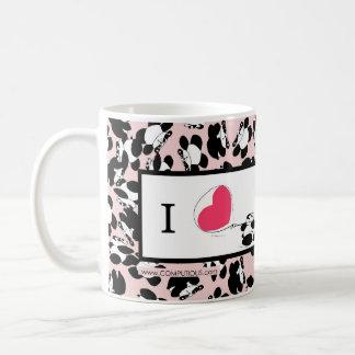 J'aime des pandas mug